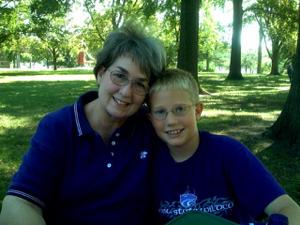 Nana and Alex Fryer